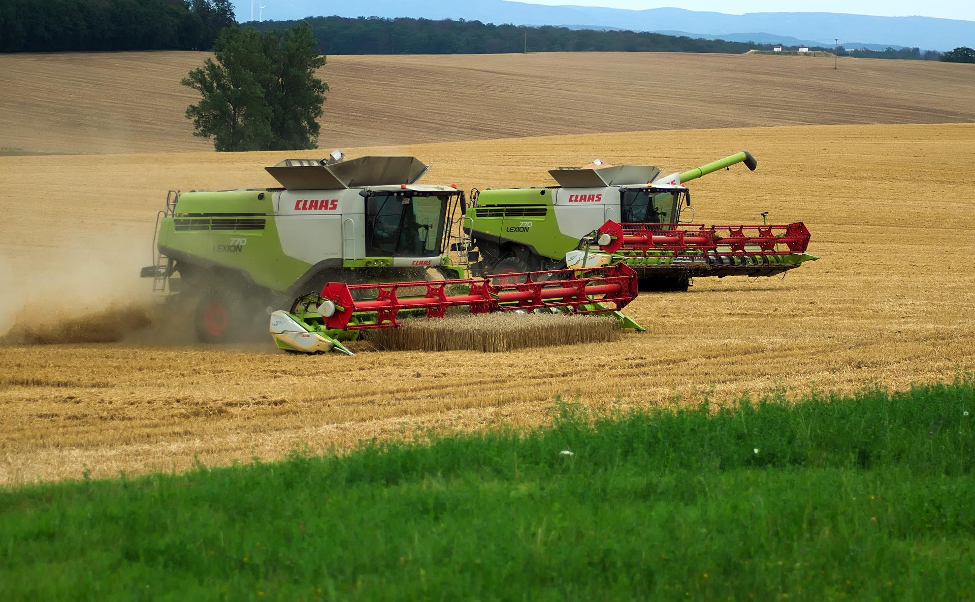 Schäden an Landwirtschaftsmaschinen können zu finanziellen Engpässen führen. Foto: pixabay
